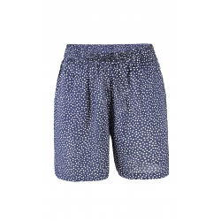 Shorts blå med hvide prikker