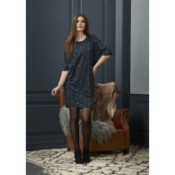 ZE-ZE kjole med leopard print