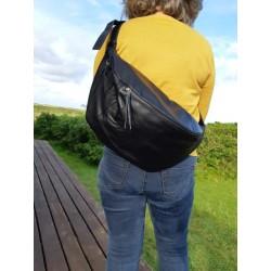 Bæltetaske, sort