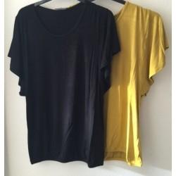 ZE-ZE Basis T-shirts i efterårets flotte farver